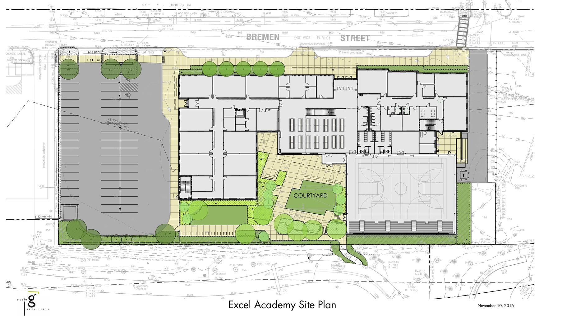 Site plan exle studio g architects learn portfolio excel for Free site plan