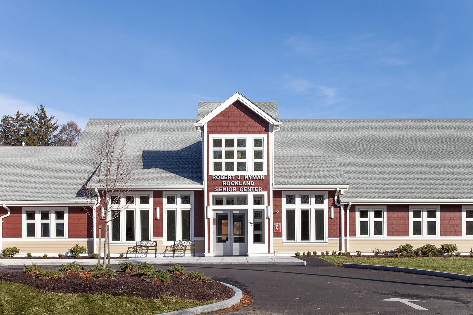 senior center rockland exterior studio